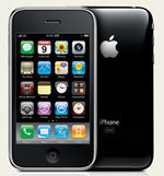 iPhone 3GS som vi använt oss av i testet