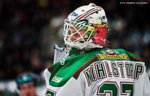 Cristopher Nihlstorp fortsätter vakta målet för Rögle
