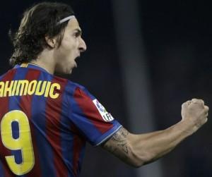 Zlatan (FC Barcelona) målskytt mot Real Madrid