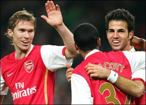Arsenal, Carling Cup 2009
