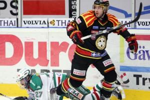 Brynäs mot Rögle i elitserien i hockey