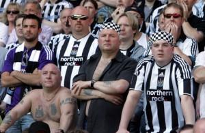 Newcastle fansen lär inte bli besvikna!